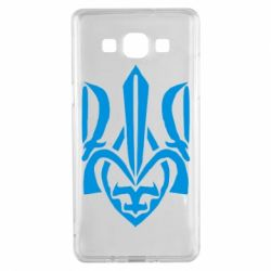 Чехол для Samsung A5 2015 Гарний герб України - FatLine
