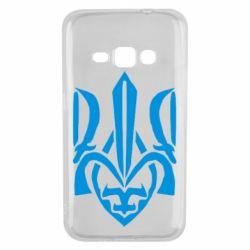Чехол для Samsung J1 2016 Гарний герб України - FatLine