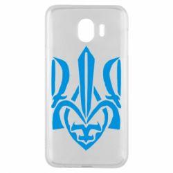 Чехол для Samsung J4 Гарний герб України - FatLine