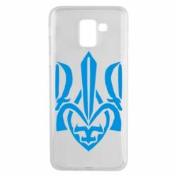 Чехол для Samsung J6 Гарний герб України - FatLine