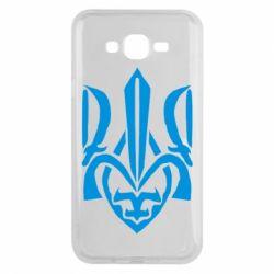Чехол для Samsung J7 2015 Гарний герб України - FatLine