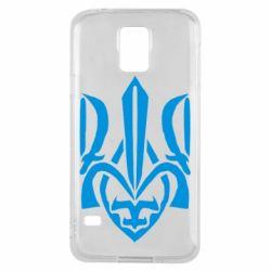 Чехол для Samsung S5 Гарний герб України - FatLine