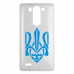 Чехол для LG G3 mini/G3s Гарний герб України - FatLine
