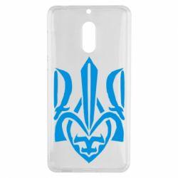 Чехол для Nokia 6 Гарний герб України - FatLine