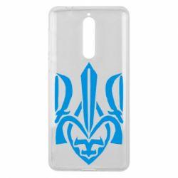 Чехол для Nokia 8 Гарний герб України - FatLine
