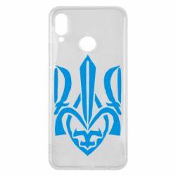Чехол для Huawei P Smart Plus Гарний герб України - FatLine