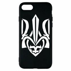 Чехол для iPhone 8 Гарний герб України - FatLine