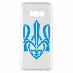 Чехол для Samsung S8 Гарний герб України - FatLine