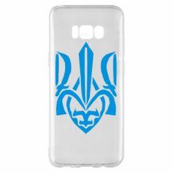 Чехол для Samsung S8+ Гарний герб України - FatLine
