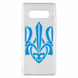Чехол для Samsung Note 8 Гарний герб України - FatLine