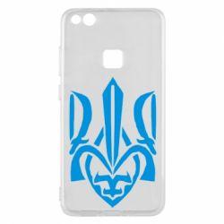 Чехол для Huawei P10 Lite Гарний герб України - FatLine