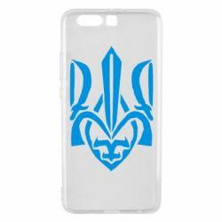 Чехол для Huawei P10 Plus Гарний герб України - FatLine
