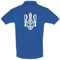 Футболка Поло Гарний герб України - FatLine