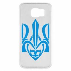 Чехол для Samsung S6 Гарний герб України - FatLine