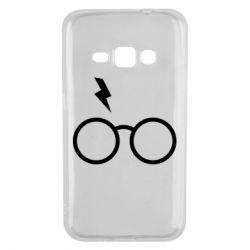 Чохол для Samsung J1 2016 Гаррі Поттер лого