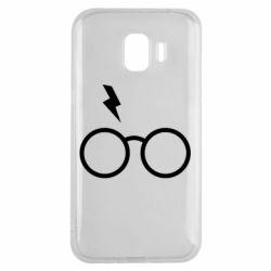 Чохол для Samsung J2 2018 Гаррі Поттер лого