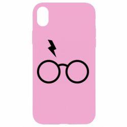 Чохол для iPhone XR Гаррі Поттер лого