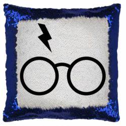 Подушка-хамелеон Гаррі Поттер лого