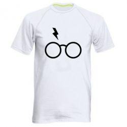 Чоловіча спортивна футболка Гаррі Поттер лого