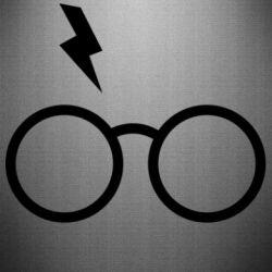 Наклейка Гаррі Поттер лого