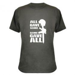 Камуфляжная футболка Gave All
