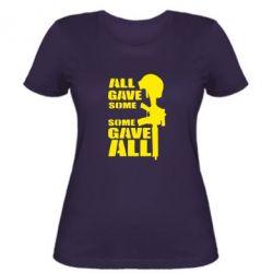 Женская футболка Gave All