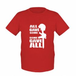 Детская футболка Gave All