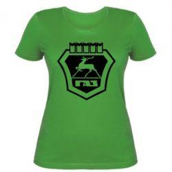 Женская футболка ГАЗ - FatLine
