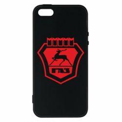 Чехол для iPhone5/5S/SE ГАЗ - FatLine