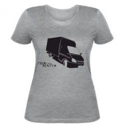 Женская футболка Газель Мафия