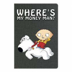 Блокнот А5 Де мої гроші - FatLine