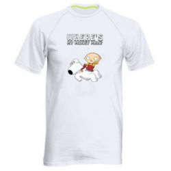 Чоловіча спортивна футболка Де мої гроші - FatLine