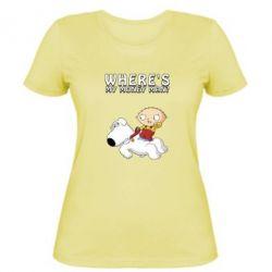 Жіноча футболка Де мої гроші - FatLine
