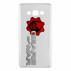 Чехол для Samsung A7 2015 Gears of War logotype