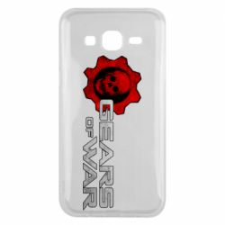 Чехол для Samsung J5 2015 Gears of War logotype