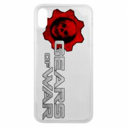 Чехол для iPhone Xs Max Gears of War logotype