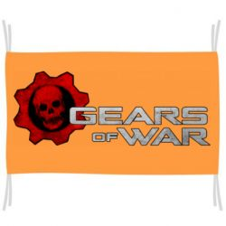 Флаг Gears of War logotype