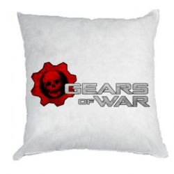 Подушка Gears of War logotype