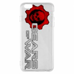 Чехол для iPhone 6 Plus/6S Plus Gears of War logotype