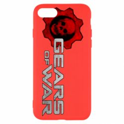 Чехол для iPhone 7 Gears of War logotype