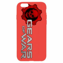 Чехол для iPhone 6/6S Gears of War logotype
