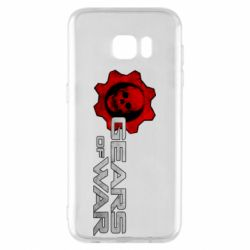 Чехол для Samsung S7 EDGE Gears of War logotype