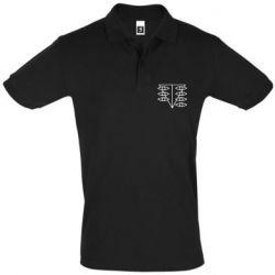 Мужская футболка поло Genesis Evangelion Seele logo