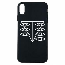 Чехол для iPhone Xs Max Genesis Evangelion Seele logo