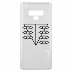 Чехол для Samsung Note 9 Genesis Evangelion Seele logo