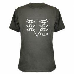 Камуфляжна футболка Genesis Evangelion Seele logo
