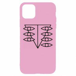 Чехол для iPhone 11 Genesis Evangelion Seele logo