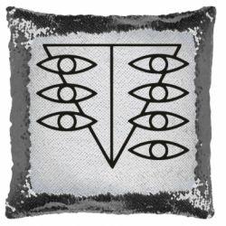 Подушка-хамелеон Genesis Evangelion Seele logo
