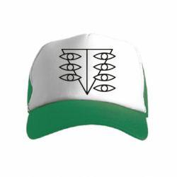 Дитяча кепка-тракер Genesis Evangelion Seele logo