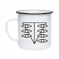 Кружка емальована Genesis Evangelion Seele logo